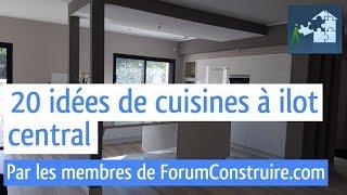 Download 20 idées de cuisines à ilot central Video