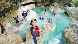 Download Downstream Canyoneering from Kanlaob River to Kawasan Falls. Video