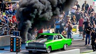 Download DIESEL NOVA!? Rolling Coal Down The DRAG STRIP! Video