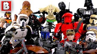 Download Every LEGO Star Wars Buildable Figure Ever Made!!! Big Collection Video