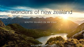 Download WONDERS OF NEW ZEALAND: SOUTH ISLAND 1HR 4K Nature Relaxation | Ambient Dynamic Film (+Music) Video
