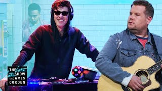 Download Shawn Mendes Destroys James In a Cover Battle #LateLateShawn Video