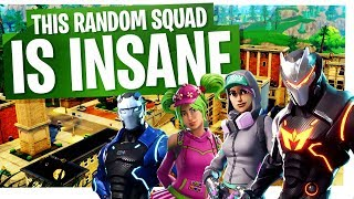 Download This Random Squad is INSANE! - Fortnite Squads Gameplay Video