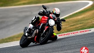 Download Ducati Monster 1200 R Review   Track Test   First Ride Video