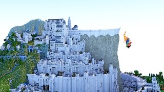 Download 3 vs 50 WAR ON MINAS TIRITH! REAL GUNS IN MINECRAFT Video