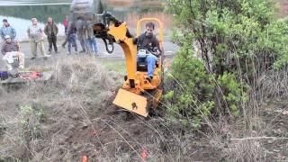 Download Singletrack 240 trail building machine Video