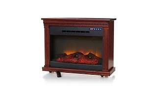 Download Heat Surge RollnGlow EV3 Touch LED Fireplace Video