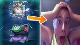 Download kid goes insane after unlocking the best legendary card in clash royale Video