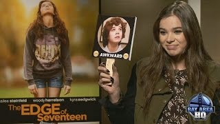 Download HAILEE STEINFELD INTERVIEW gets ″AWKWARD!″ THE EDGE OF SEVENTEEN SAN FRANCISCO STARVING VIDEO Video