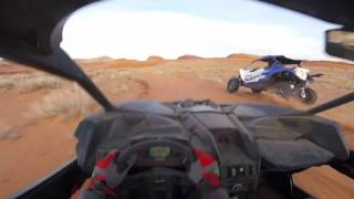 Download Benny Brappo out Testing The New Can Am Maverick X3 RS in the desert for a day! Video