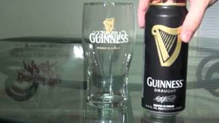 Download How to Properly Pour a Can of Guinness Video