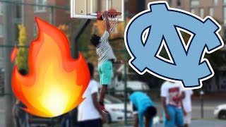 Download NORTH CAROLINA BASKETBALL COMMIT DRESSES AS NERD AND PLAYS BASKETBALL IN THE HOOD!! *INSANE* Video
