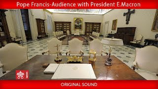 Download Pope Francis- Audience with President Emmanuel Macron 2018-06-26 Video