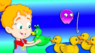 Download Groovy The Martian & Phoebe - Let's Go Fishing with Fish Food Game for kids at the fair Video