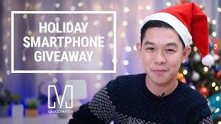 Download Holiday Smartphone Giveaway Video