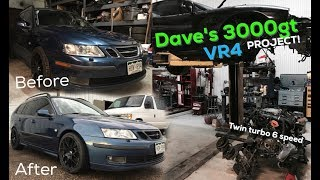 Download The Saab Dad wagon gets some mods! 3000gt VR4 Project .... Video
