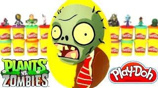 Download Plants vs Zombies Sürpriz Yumurta Oyun Hamuru - Zombi Oyuncakları Minecraft Anime Video