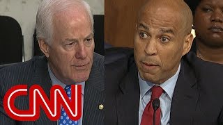 Download Cory Booker fires back at Cornyn's warning: 'Bring it' Video