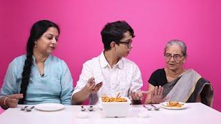 Download Three Generations Taste Test Their Favourite Dishes Video