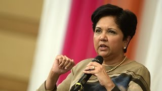 Download Conversation with PepsiCo CEO Indra Nooyi and David Bradley Video