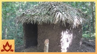 Download Primitive Technology: Palm Thatched Mud Hut Video