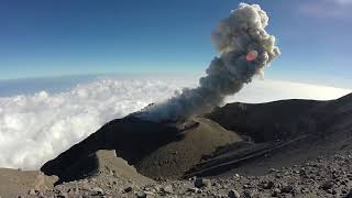 Download Semeru Volcano by Drone Video