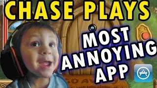 Download Chase Plays Most Annoying App Ever (2 Year Old Face Cam) Do Not Disturb iOS Gameplay Video