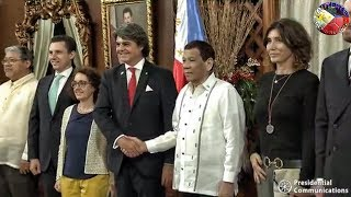 Download PRESIDENT DUTERTE RECEIVES TWO AMBASSADORS KINGDOM OF SPAIN and KINGDOM OF CAMBODIA ! Video
