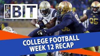 Download College Football Week 12 Betting Recap | Sports BIT | NCAAF Picks Video