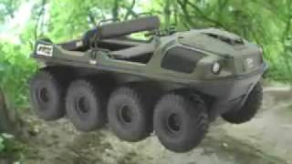 Download VTT Amphibie   Véhicule Tout-terrain - 8X8 750 HDi - ARGO Tout-terrain VTTT Video