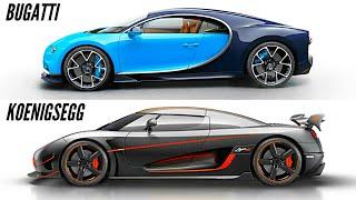 Download Bugatti Chiron vs Koenigsegg Agera RS 0-400-0 km/h Challenge (WORLD RECORDS) Video