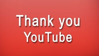 Download thank you youtube Video