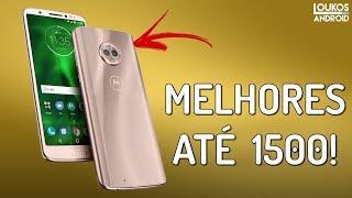 Download 5 MELHORES Smartphones até 1500 REAIS em 2018 vendidos no BRASIL! Video