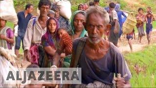 Download Rakhine violence pushes more Rohingya refugees to Bangladesh Video