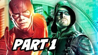 Download The Flash Arrow Supergirl Legends Crossover Part 1 Explained Video