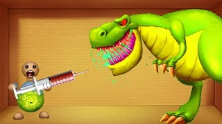 Download Buddy DIAMON vs DInosaurs T-Rex S Buddy BIO - Kick The Buddy Best Game Video