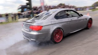 Download BRUTAL!! BMW M3 E92 w/ STRAIGHT PIPES - Revs, Acceleration, BURNOUT! Video