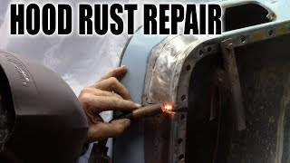 Download Rust Repair Chevy c10 Hood Video