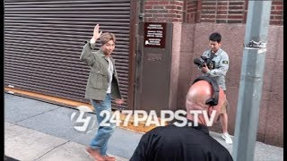 Download (EXCLUSIVE) BTS Arriving at IHeart Radio for A Concert in NYC 052119 Video