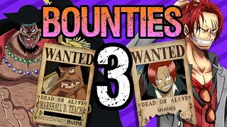 Download BOUNTIES Part 3: The YONKO + Dragon - One Piece Theory Video