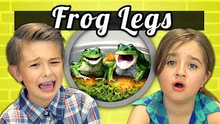 Download KIDS vs. FOOD #9 - FROG LEGS Video