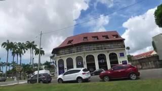 Download Walking Around Cayenne, French Guiana Aug 2016 - DJI OSMO 1/4 Video