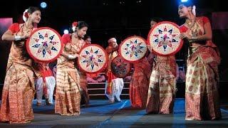 Download Bihu Nasoni performance::::tezpur university by Jina rajkumari and her teammates Video