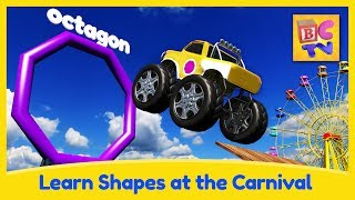 Download Learn Shapes with Monster Trucks and Carnival Game for Kids Video