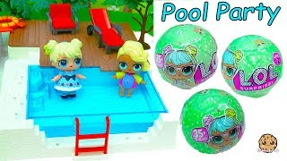 Download LOL Surprise Big Sister Baby Doll Blind Bag Pool Party - Water Toy Video Video