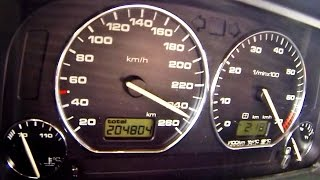 Download VW Golf MK 2 VR6 Turbo 900 HP Brutal Acceleration 0-250 Video