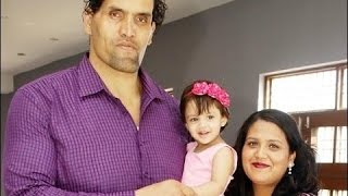 Download The Great Khali Family Rare and Unseen Images Video