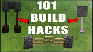 Download 101 MINECRAFT BUILD HACKS Video