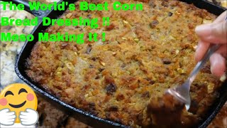 Download How To Make The Worlds Best Southern Cornbread Dressing: Crispy Outside Creamy Inside Video