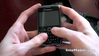 Download RIM BlackBerry Curve 9300 unboxing and hands-on Video